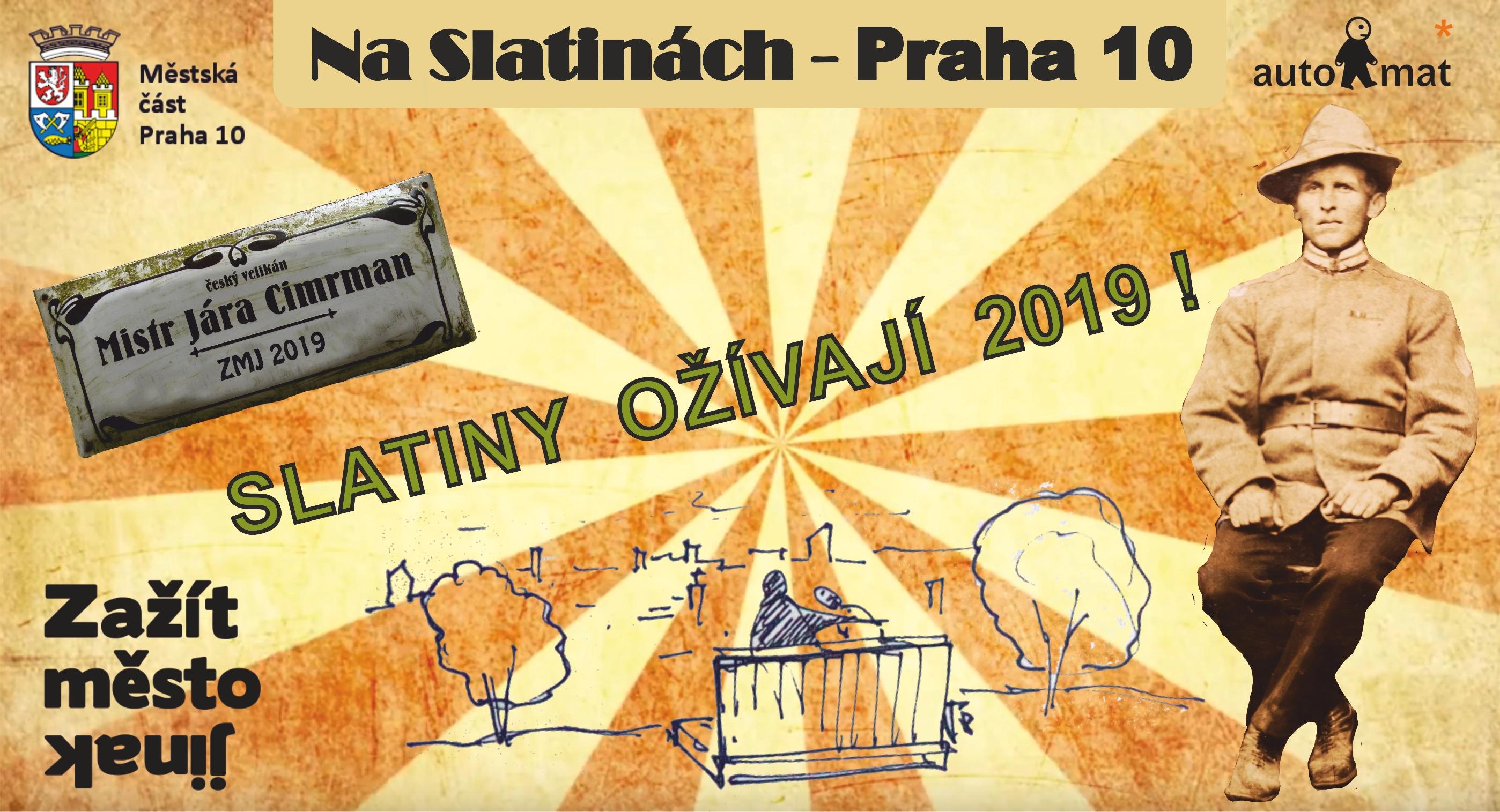 ZMJ Na Slatinách -Praha 2019
